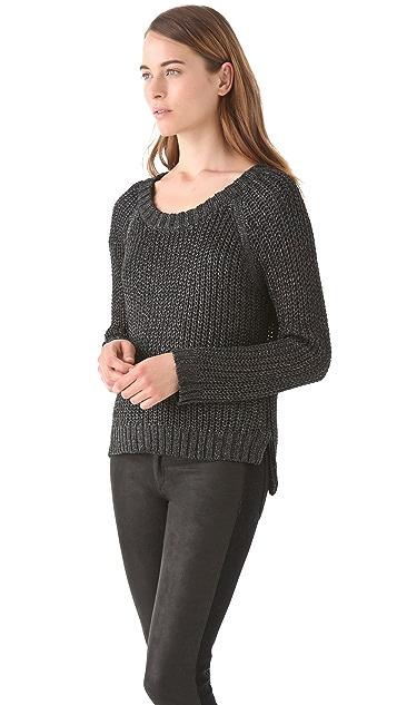 Rag & Bone Sandra Metallic Pullover
