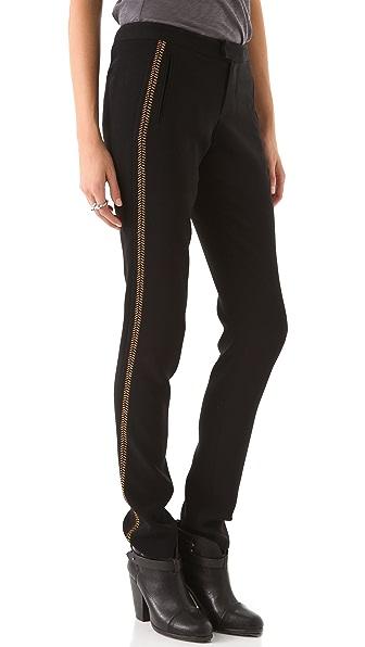Rag & Bone Raj Copper Stitch Pants