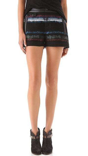 Rag & Bone Tatiana Stripe Shorts