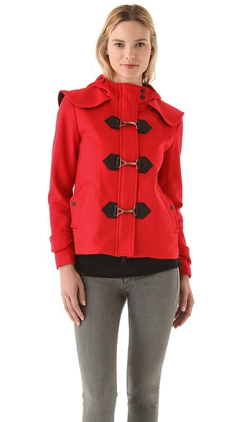 Rag & Bone Classic Cropped Duffle Coat