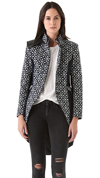 Rag & Bone Trooper Embroidered Tailcoat