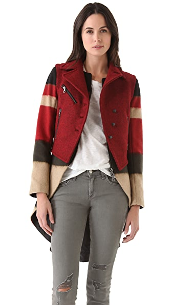 Rag & Bone Biker Tailcoat with Vest