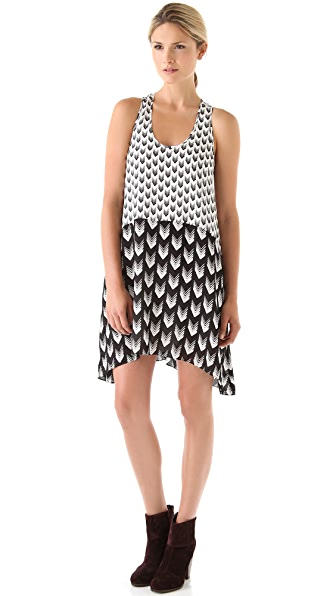 Rag & Bone Mercer Print Sleeveless Dress