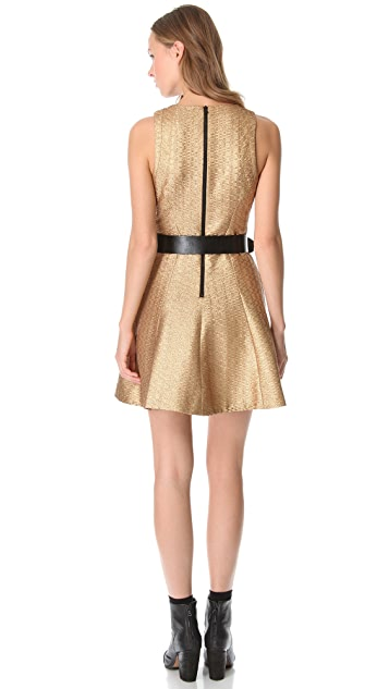 Rag & Bone Renard Metallic Dress