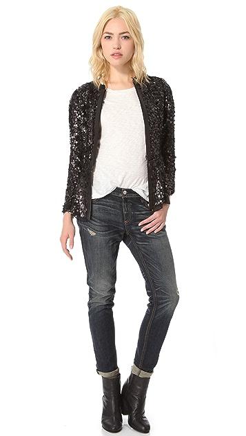 Rag & Bone Faren Peplum Jacket
