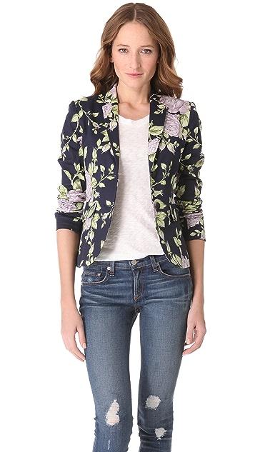 Rag & Bone Bailey Floral Print Jacket