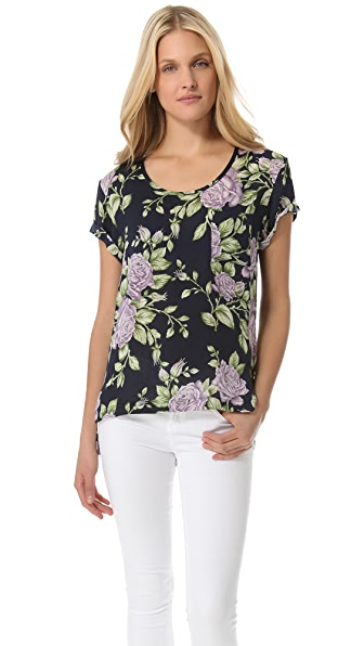 Rag & Bone The Pocket Floral Tee