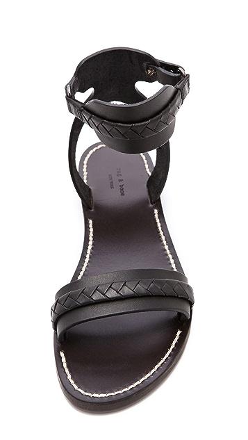 Rag & Bone Braided Layla Sandals