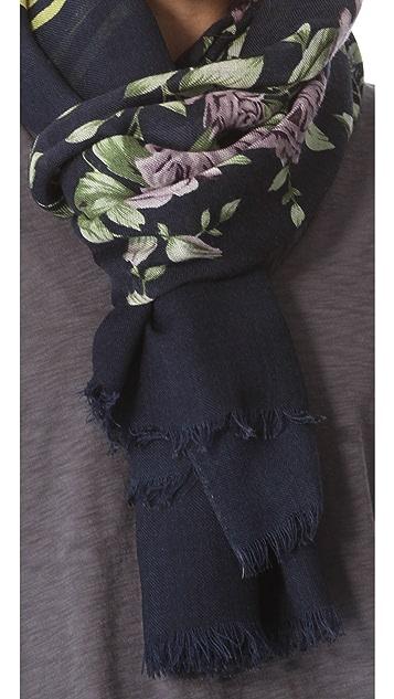 Rag & Bone Uzbeck Flower Scarf
