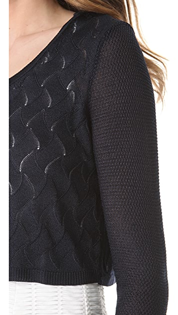Rag & Bone Belle Crop Pullover