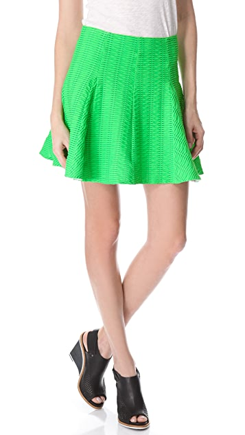 Rag & Bone Niki Flare Skirt