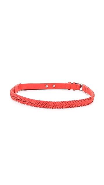 Rag & Bone Braided D Ring Belt