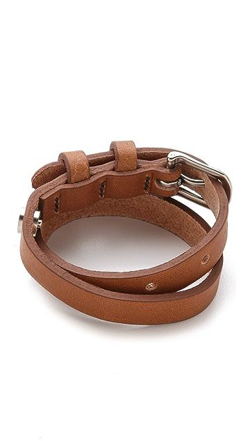 Rag & Bone Moto Wrap Bracelet