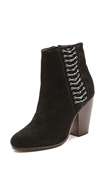 Rag & Bone Lilian Zip Up Boots