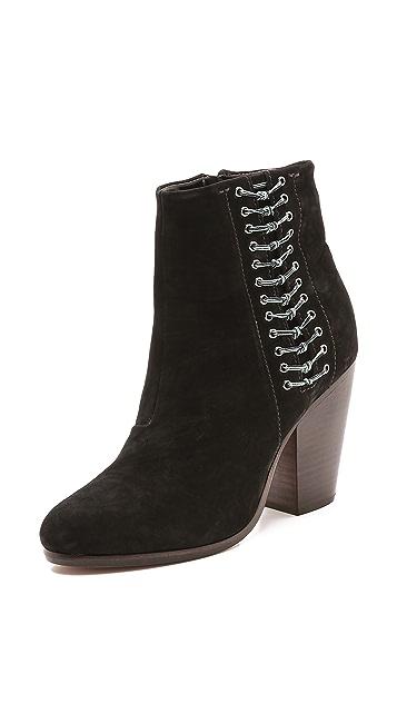 Rag & Bone Lilian Zip Up Boots