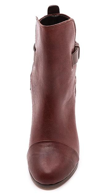 Rag & Bone Kinsey Leather Booties