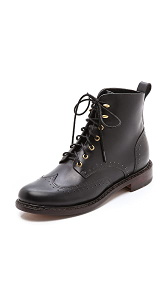 Rag & Bone Cozen Lace up Booties