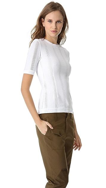 Rag & Bone Elsa Short Sleeve Top