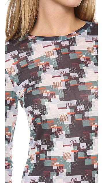 Rag & Bone Printed Long Sleeve Tee