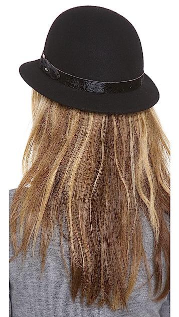 Rag & Bone Pearl Haircalf Hat