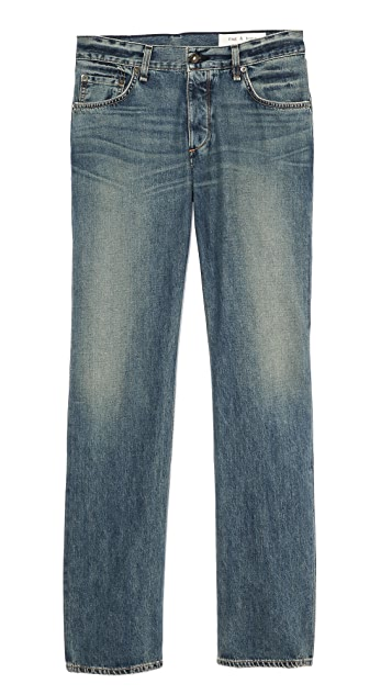 Rag & Bone RB15X Augusta Slim Straight Jeans