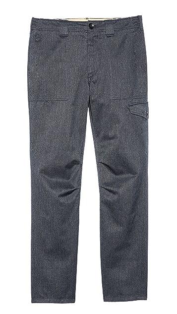 Rag & Bone Melange Fatigue Pants