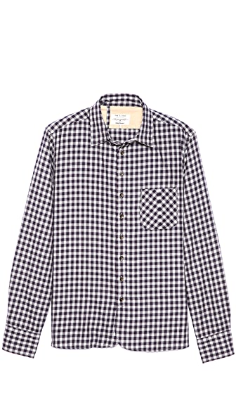 Rag & Bone 3/4 Placket Sport Shirt