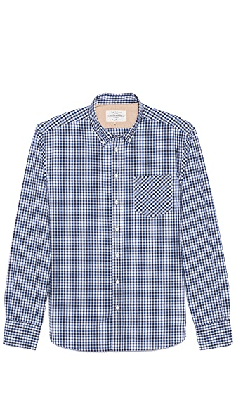 Rag & Bone Gingham Sport Shirt