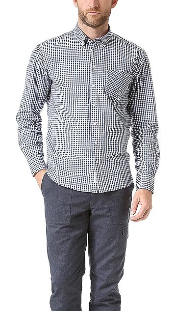 Rag & Bone Gingham Sport Shirt