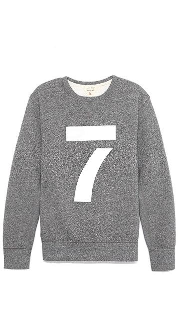 Rag & Bone Number Sweatshirt