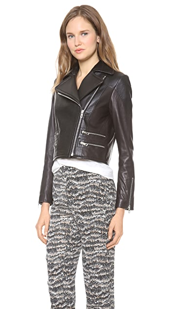 Rag & Bone Hudson Leather Moto Jacket