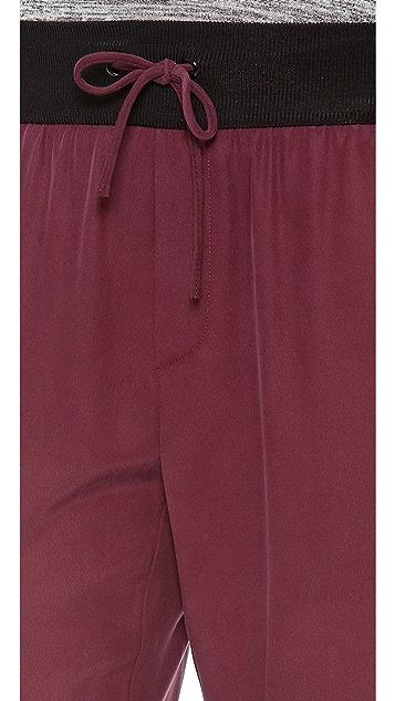 Rag & Bone Silk Track Pants