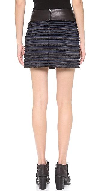 Rag & Bone Gray Skirt
