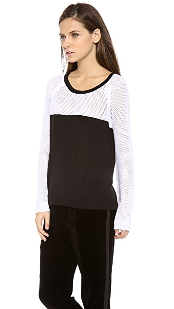Rag & Bone Brooke Colorblock Raglan Pullover