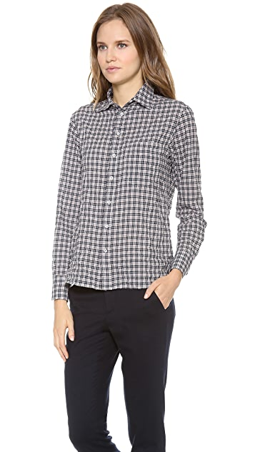 Rag & Bone 88 Buttondown Plaid Shirt
