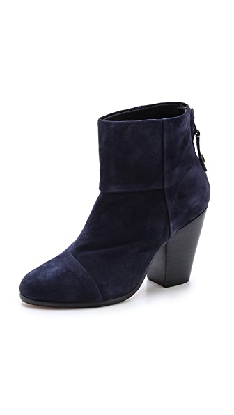 Rag & Bone Suede Newbury Booties