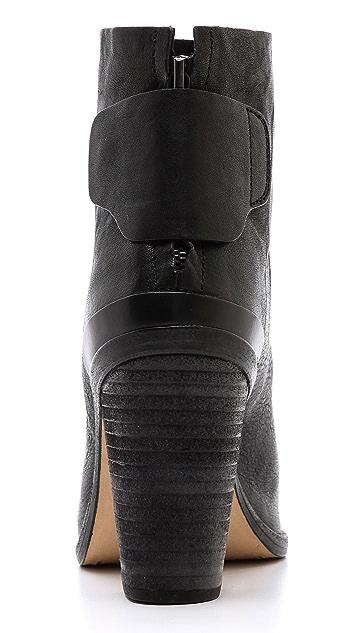 Rag & Bone Kerr Leather Booties
