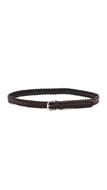 Rag & Bone Classic Braided Belt