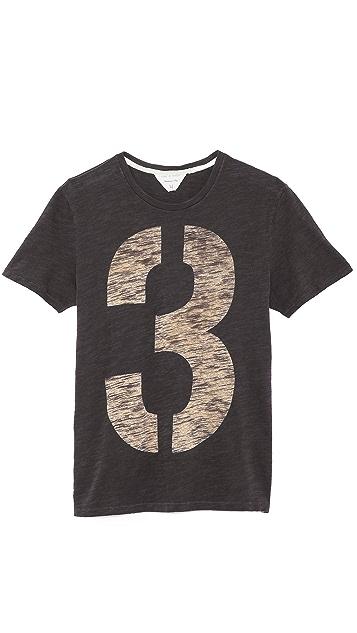 Rag & Bone Numbers T-Shirt