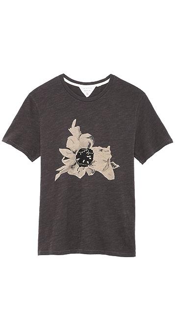 Rag & Bone Flower T-Shirt