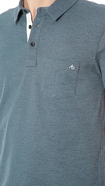 Rag & Bone Moulinex Pocket Polo