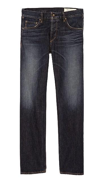 Rag & Bone RB15X Berkely Slim Straight Fit Jeans