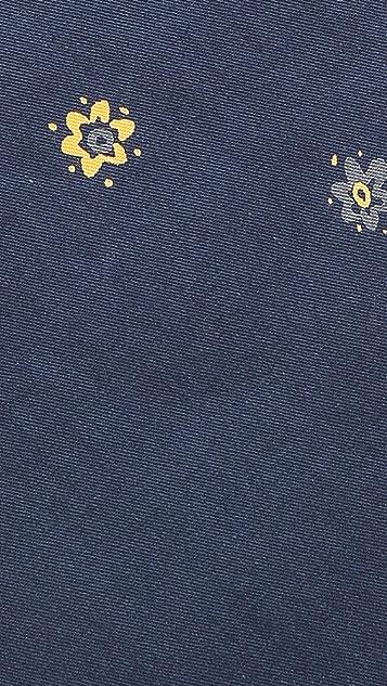 Rag & Bone Floral Dot Tie