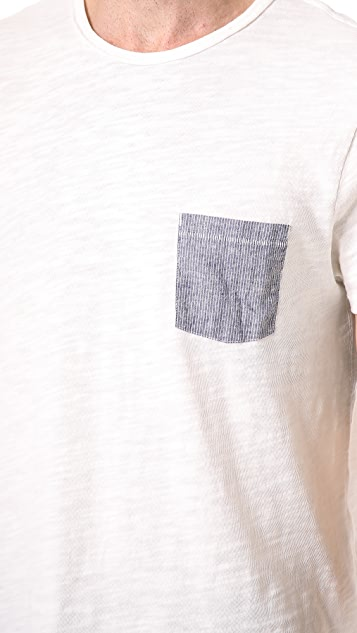 Rag & Bone Basic Pocket T-Shirt