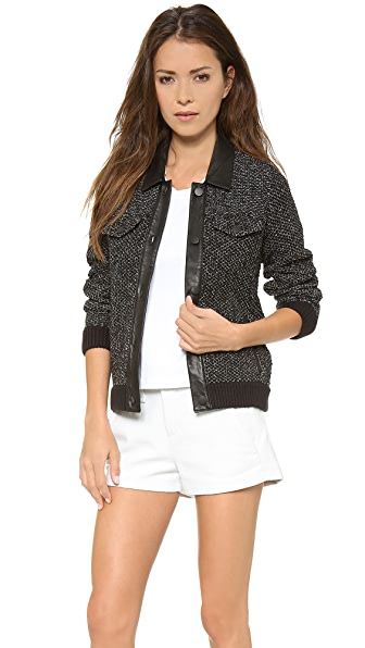 Rag & Bone Paula Collar Jacket