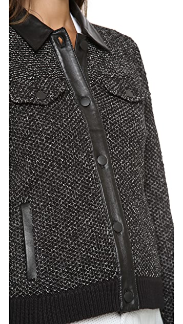 Rag & Bone Paula Collar Jacket