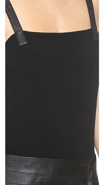 Rag & Bone Aimee Leather Dress