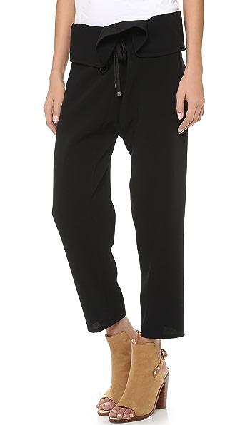 Rag & Bone Bangkok Fold Over Pants
