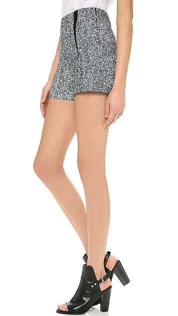 Rag & Bone Florencia High Waisted Shorts