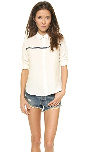 Rag & Bone Swan Button Down Shirt